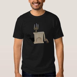 ChandelierFireplaceLogsHatchet101115.png T Shirts