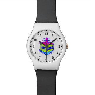 Chanukah Dreidel Armbanduhr