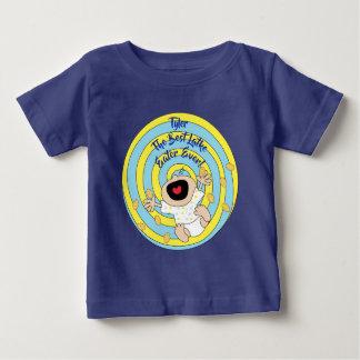 "Chanukka ""bester Latke-Esser-"" grundlegender Baby T-shirt"