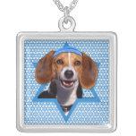 Chanukka-Davidsstern - Beagle Amulett