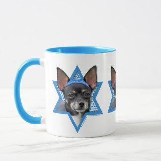 Chanukka-Davidsstern - Chihuahua Tasse