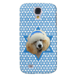 Chanukka-Davidsstern - Pudel - Aprikose Galaxy S4 Hülle