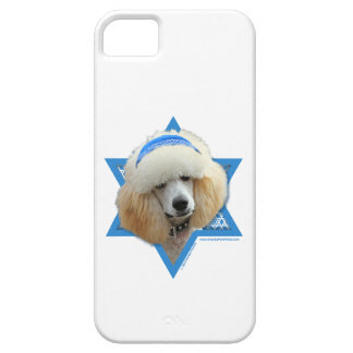 Chanukka-Davidsstern - Pudel - Aprikose iPhone 5 Schutzhülle