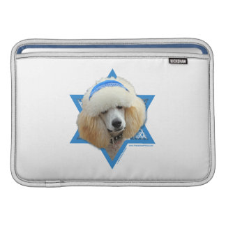 Chanukka-Davidsstern - Pudel - Aprikose MacBook Air Sleeve