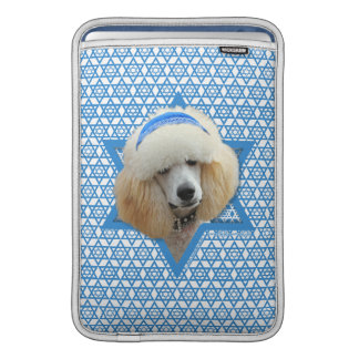 Chanukka-Davidsstern - Pudel - Aprikose Sleeve Fürs MacBook Air