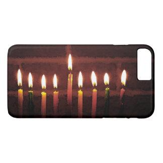 Chanukka-Festival Lichter iPhone 7 Plusfalles iPhone 8 Plus/7 Plus Hülle