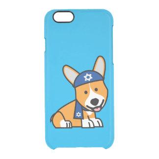 Chanukka glücklicher jüdischer durchsichtige iPhone 6/6S hülle