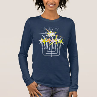 CHANUKKA-LICHTER LANGARM T-Shirt