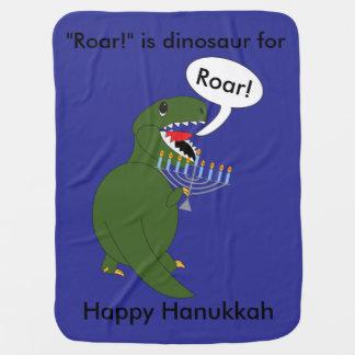 ChanukkaTyrannosaurus Rex Dinosaurier Babydecke