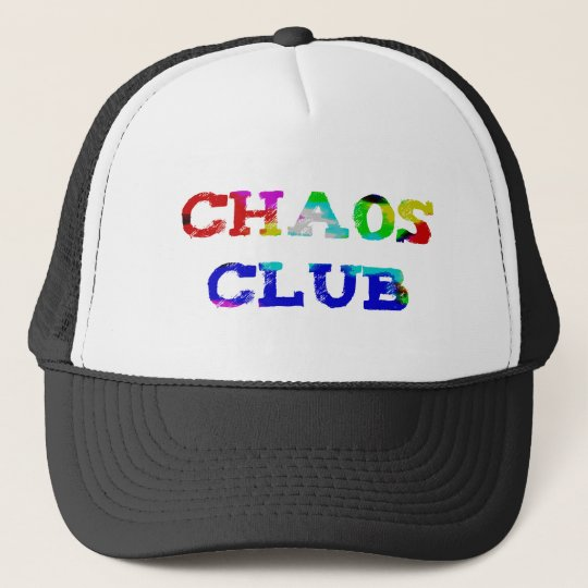 Chaos Club Truckerkappe