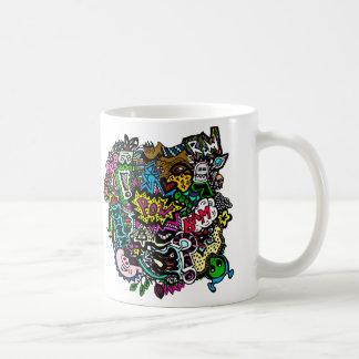 Chaos im Kaffee Kaffeetasse