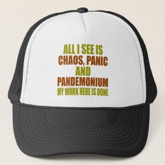 Chaos-Panik-Tumult Truckerkappe