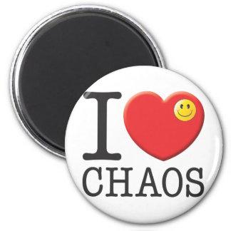 Chaos Runder Magnet 5,7 Cm