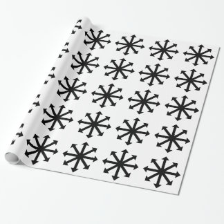 Chaos-Stern Geschenkpapier