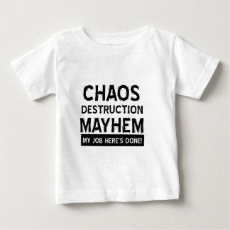 Chaoszerstörungs-Verstümmelung Baby T-shirt