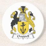 Chappell Familienwappen Bierdeckel