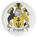 Chappell Familienwappen Flacher Teller