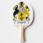 Chappell Familienwappen Tischtennis Schläger