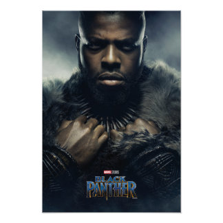 Charakter des schwarzen Panther-| M'Baku Poster