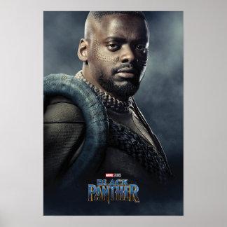 Charakter des schwarzen Panther-| W'Kabi Poster
