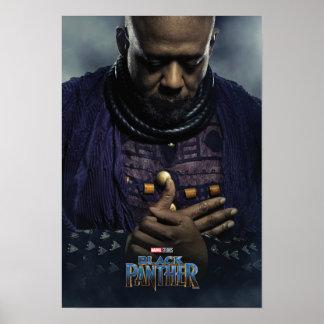 Charakter des schwarzen Panther-| Zuri Poster