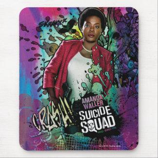 Charakter-Graffiti der Selbstmord-Gruppen-  Amanda Mousepad