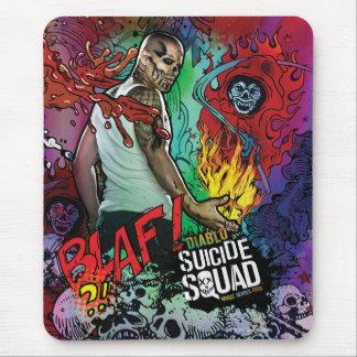 Charakter-Graffiti der Selbstmord-Gruppen-| Diablo Mousepad