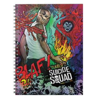 Charakter-Graffiti der Selbstmord-Gruppen-| Diablo Notizblock