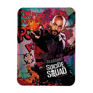 Charakter-Graffiti der Selbstmord-Gruppen-| Magnet