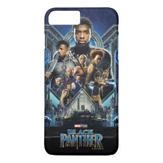 Charaktere des schwarzen Panther-  über Wakanda iPhone 8 Plus/7 Plus Hülle