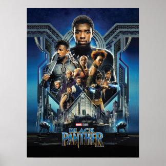 Charaktere des schwarzen Panther-| über Wakanda Poster