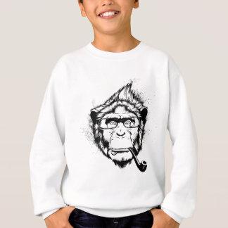 Charakteristischer Schimpanse Sweatshirt