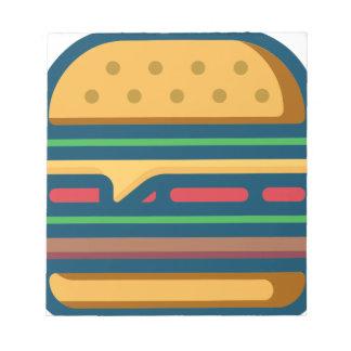 Charbroiled Cheeseburger Notizblock