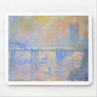 Charing Querbrücke durch Claude Monet Mauspads