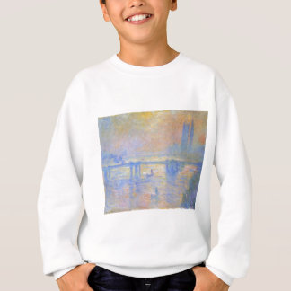 Charing Querbrücke durch Claude Monet Sweatshirt