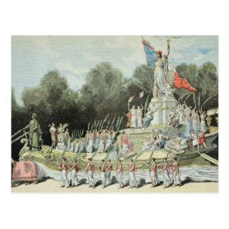 Chariot Triumphs der Republik Postkarte