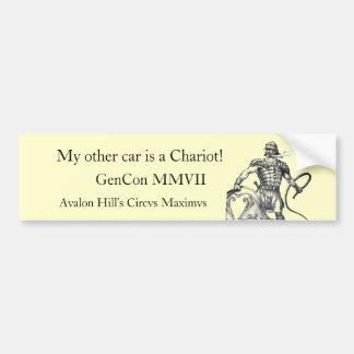 Charioteer, GenCon MMVII, Avalon H… Autoaufkleber