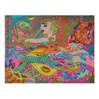 Chariots und Meerjungfrauen Postkarte