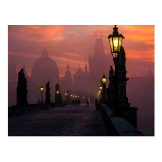 Charles-Brücke Prag Postkarte