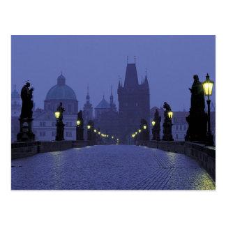 Charles-Brücke - Prag Postkarte