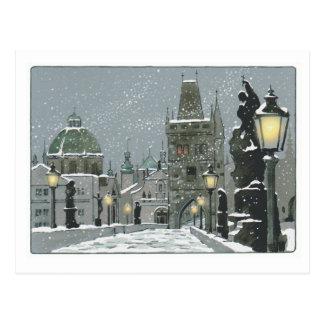 Charles-Brückenpostkarte Postkarte
