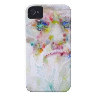 Charles Darwin - Aquarellporträt iPhone 4 Cover