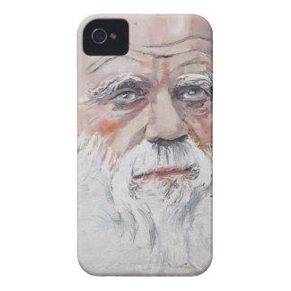 Charles Darwin - Ölporträt iPhone 4 Hülle