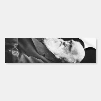 Charles Darwin-Porträt Autoaufkleber