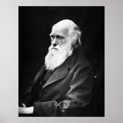Charles Darwin-Porträt