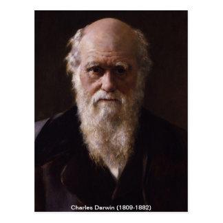 Charles Darwin-Postkarte Postkarte