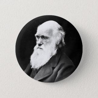 Charles Darwin Runder Button 5,1 Cm