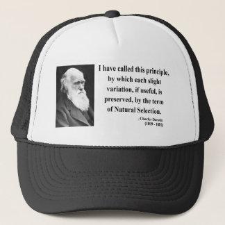 Charles Darwin-Zitat 6b Truckerkappe