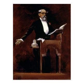 Charles Dickens Postkarte