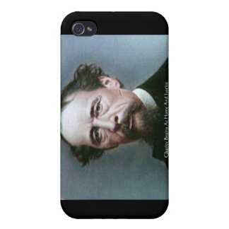 """Charles Dickens""""Wohltätigkeit @Home"""" iPhone 4 Cover"""